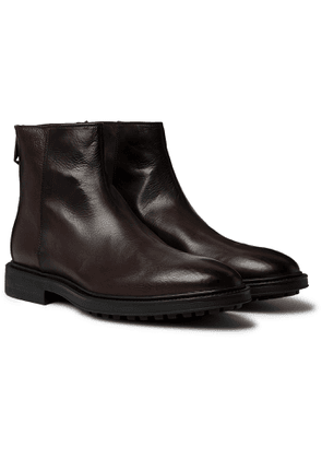 PAUL SMITH - Oscar Leather Chelsea Boots - Men - Brown
