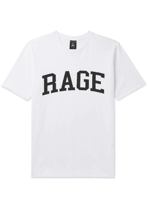 Wacko Maria - Rage Against The Machine Printed Cotton-Jersey T-Shirt - Men - White