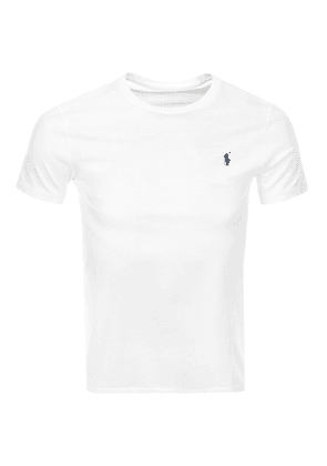Ralph Lauren Crew Neck Custom Fit T Shirt White