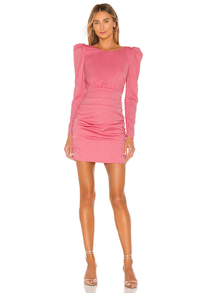 NBD Bekah Mini Dress in Pink. Size M, XS.
