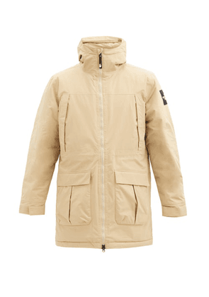 The North Face - Storm Peak Logo-patch Padded-shell Hooded Parka - Mens - Cream