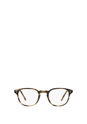 OLIVER PEOPLES WOMEN'S OV52191612 BROWN ACETATE GLASSES