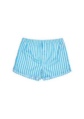 Derek Rose Ledbury 40 Striped Cotton Boxer Shorts