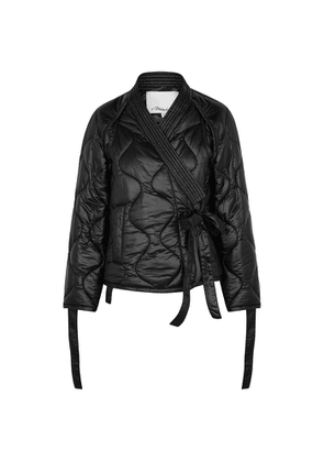 3.1 Phillip Lim Black Quilted Shell Jacket