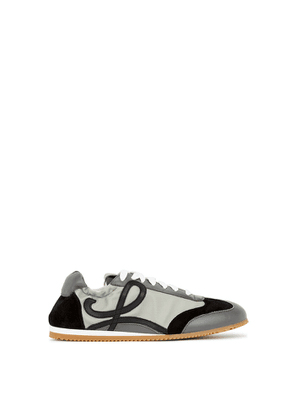 Loewe Ballet Runner Grey Panelled Sneakers