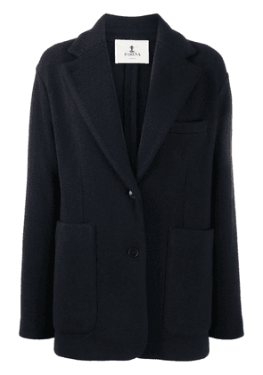 Barena fitted single-breasted blazer - Blue