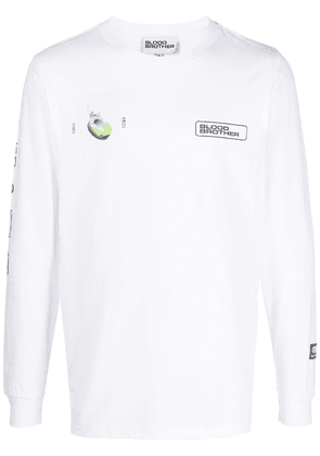 Blood Brother Aldgate long-sleeve T-shirt - White