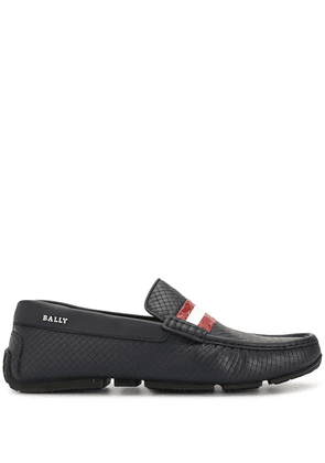 Bally scale-effect loafers - Blue