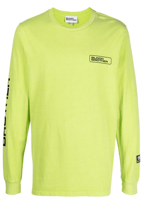 Blood Brother Sloane long-sleeve T-shirt - Green