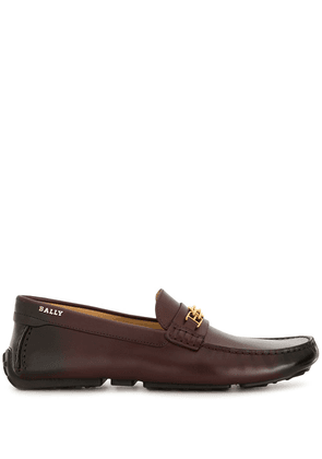 Bally Pansys burnished loafers - Brown