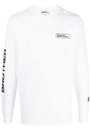 Blood Brother Sloane long-sleeve T-shirt - White