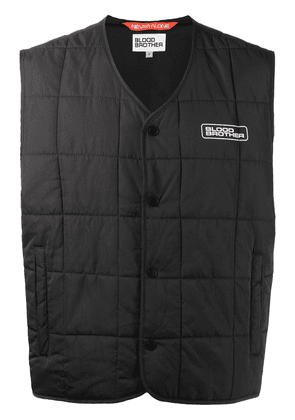 Blood Brother Warren quilted gilet - Black
