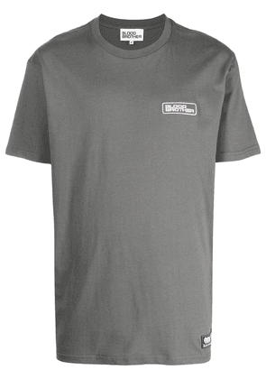 Blood Brother Abbey cotton T-shirt - Grey