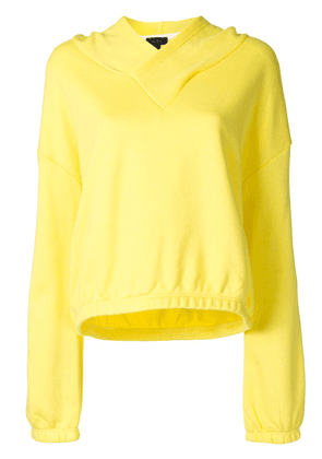 ALALA plain-color performance hoodie - Yellow