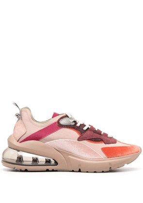 D.A.T.E. Aura Silk low-top trainers - PINK