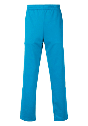 Acne Studios Norwich Face track pants - Blue