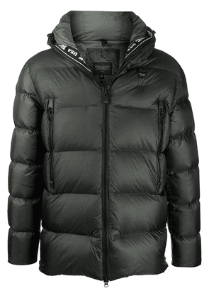 Blauer feather-down padded coat - Green