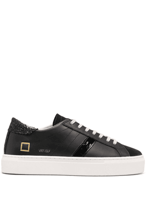 D.A.T.E. Hill Low Glam trainers - Black