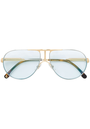 Carrera 1109 aviator-frame glasses - PZ7 MTT PLD GOLD