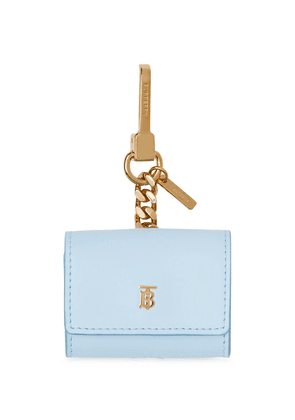 Burberry airpods pro leather case - Blue