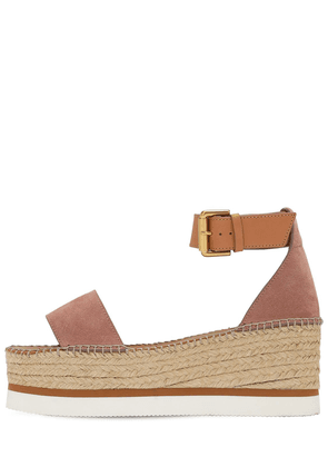 80mm Glyn Suede Wedges