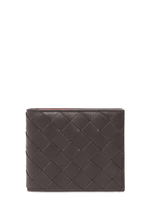 Intreccio Two Tone Leather Wallet