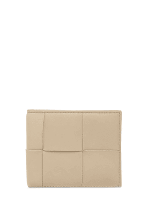 Maxi Intreccio Leather Billfold Wallet