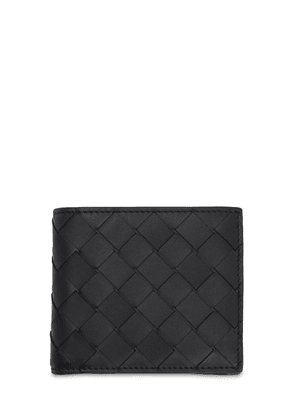Intrecciato Leather Coin Wallet