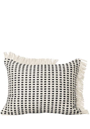 Way Pillow W/ Fringed Edges