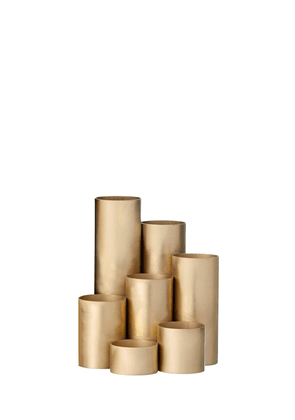 Brass Multi Compartment Pencil Holder