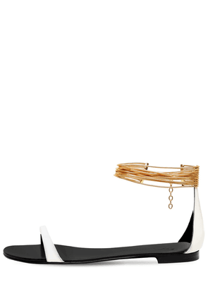 10mm Patent Leather Sandals