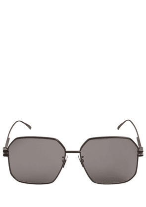 Bv1047s Squared Metal Sunglasses