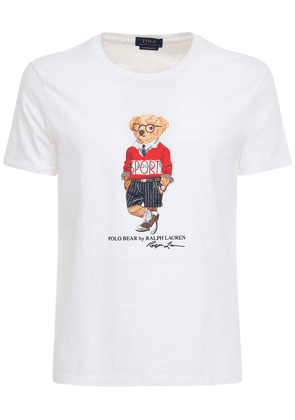 Cotton Jersey Bear T-shirt
