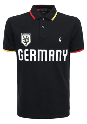 Germany Custom Fit Cotton Piqué Polo