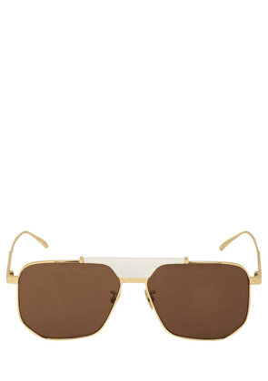 Bv1036s Aviator Metal Sunglasses