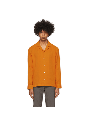 Saturdays NYC Orange Marco Shirt