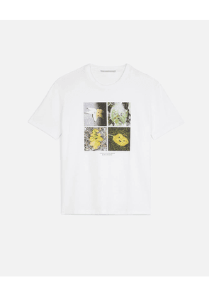 Stella McCartney White Faces In Places T-shirt, Women's, Size 6