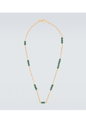 Exclusive to Mytheresa - X Malachite 5, 2, 3 link necklace