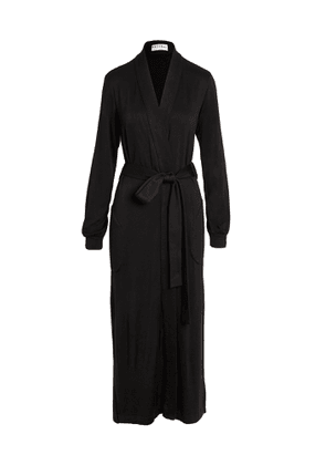 Mason Grey Banded Long Robe