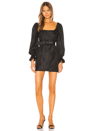 Camila Coelho Belinha Mini Dress in Black. Size XS.