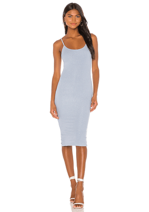 superdown Robbie Midi Dress in Baby Blue. Size M, XXS.