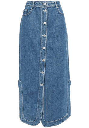 Ganni Denim Midi Skirt Woman Mid denim Size 34