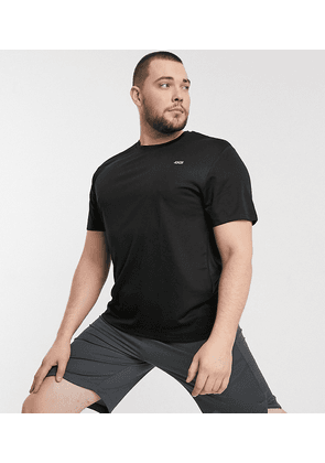 ASOS 4505 Plus icon easy fit training t-shirt with quick dry in black