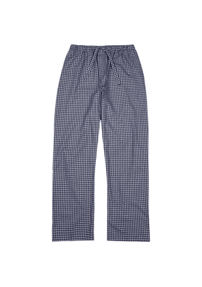 Derek Rose Braemar 32 Checked Cotton Pyjama Trousers