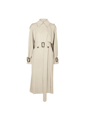 THE ROW Yeli Stone Double-breasted Trench Coat