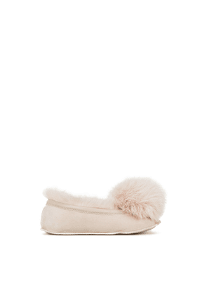 Gushlow & Cole Shearling Ballet Slippers