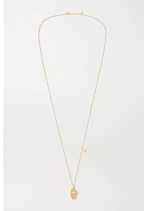 OLE LYNGGAARD COPENHAGEN - Forest 18-karat Yellow And Rose Gold Diamond Necklace