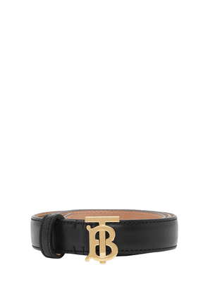 2cm Tb Leather Belt