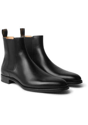 Dunhill - Leather Chelsea Boots - Men - Black