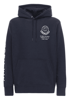 Undefeated Logo Cotton Hoodie